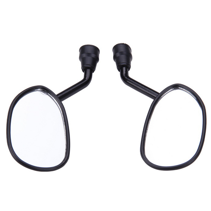 Motocicleta Motorbike Retrovisores laterais - Black (8mm / 2PCS)