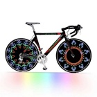 Bicycle Bike Colorful 14-LED Wheel Signal Light - White (3*AAA)