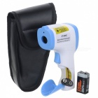 "DT-8806C 1.7"" LCD Non-Contact Infrared Body Thermometer - Blue + White"