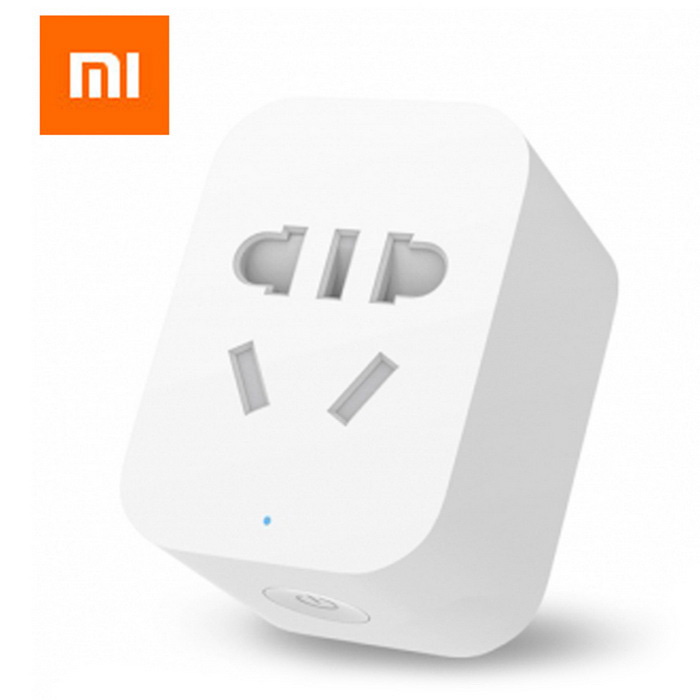 Original xiaomi zigbee version mi smart wi-fi prise - blanc