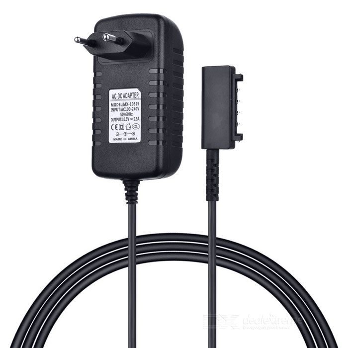 MX-10529 10.5V 2.9a Power Adapter voor de Sony Tablet - Zwart