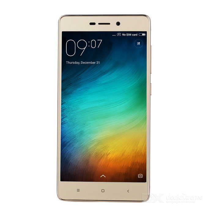 Xiaomi Redmi 3 High Version Phone w/ 3GB RAM, 32GB ROM - Golden(SKU 433635)