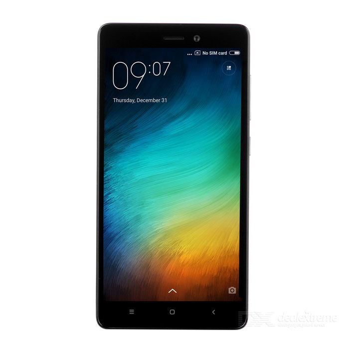 "Xiaomi Redmi 3 High Version 4G 5.0"" Phone w/ 3GB RAM, 32GB ROM - Grey"