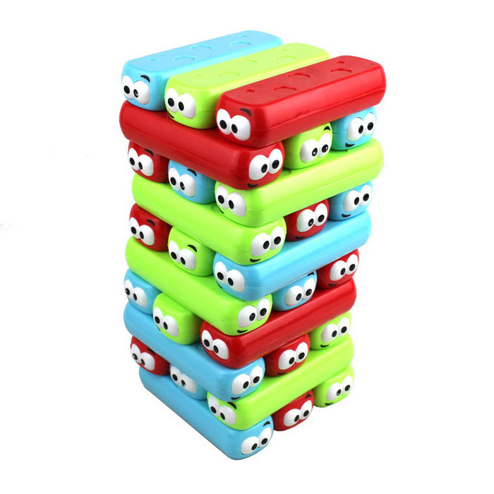 Desktop Game Worm Stackers Game Toy - Multicolored