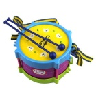 Musik Jazz Drum Musical Instrument Set für Kinder - Lila + Gelb