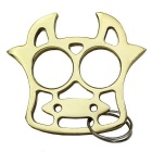 Lovely Cow Style Key Chain Keychain - Golden