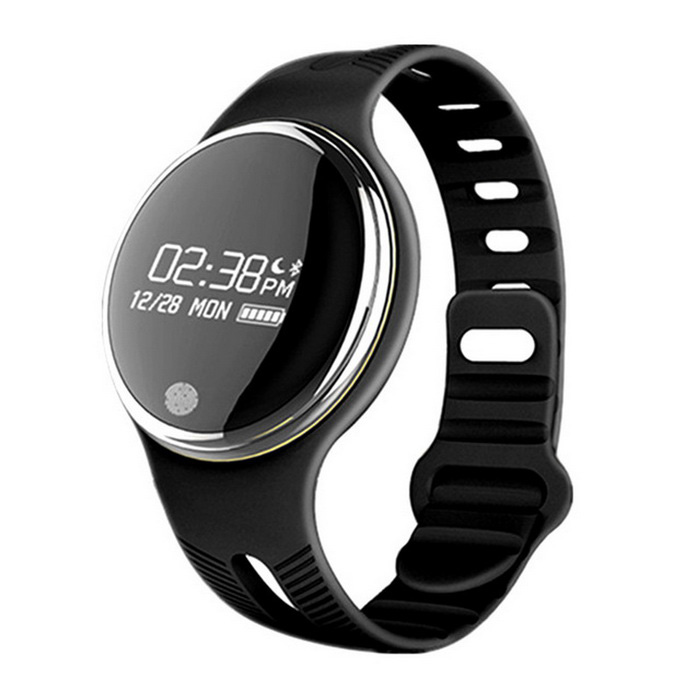 IP67 Music Controlling Smart Wristband - BlackSmart Bracelets<br>Form  ColorBlackQuantity1 DX.PCM.Model.AttributeModel.UnitMaterialTPUShade Of ColorBlackWater-proofIP67Bluetooth VersionBluetooth V4.0Touch Screen TypeOthers,OLEDOperating System-Compatible OSAndroid 4.3 / iOS 7.0 and Above SystemBattery Capacity90 DX.PCM.Model.AttributeModel.UnitBattery TypeLi-polymer batteryStandby Time7 DX.PCM.Model.AttributeModel.UnitOther FeaturesBluetooth version: Bluetooth 4.0; <br>Language: English,Simplified Chinese,Traditional Chinese; <br>Waterproof: Yes;  <br>IP rating: IP67;  <br>Screen type: OLED; <br>Operating mode: Press button; <br>Compatible OS: Android, IOS;  <br>Compatability: Android 4.3 / iOS 7.0 and Above System.Packing List1*Smart Bracelet1*USB Charging Head1*Chinese and English User Manual<br>