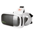 RITECH 3plus Virtual Reality VR 3D Video Game Glasses - White + Black