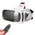 Ritech 3plus realidad virtual VR 3D Glasses + BT Consola - Negro + blanco