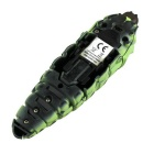R / C 3-Channel Lifelike Toy Caterpillar - Verde Claro