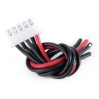 RC 4S Lipo Battery Balance Plug Charger Cable - Black + Red (10cm)