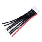 RC 6S Lipo Battery Balance Plug Extension Cable -Black + Red (10cm)