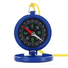 S-What Portable Flip-Open Pocket Compass - Blue