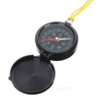 S-Cosa portatile flip-open Pocket Compass - Nero
