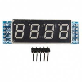 4-Digit Digital LED Display Tube Control Module 74HC595 Chip Drive