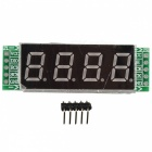 Tubo de 4 dígitos Digital Display de Control del Módulo 74HC595 Chip Drive