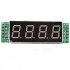 4-stelliges Digital-LED-Display-Röhren-Steuermodul 74HC595 Chip-Laufwerk