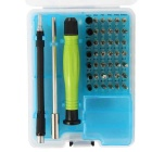 NO8925 46-in-1 Multi-purpose Precision Screwdriver Set - Green + Black