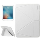 "ENKAY PU + TPU Smart Case w/ Stand for 9.7"" IPAD Pro - White"