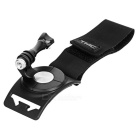 360' Rotating Arm / Wrist / Leg Fixing Strap For Gopro Hero - Black