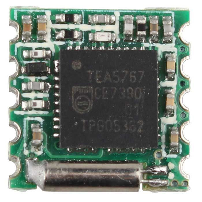 TEA5767 Chip FM Radio Module for Arduino, Raspberry, ARM - Green