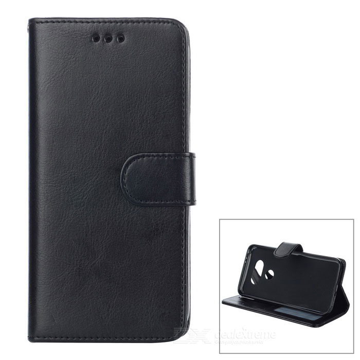 PU Leather Flip-Open Case with Card Slot for LG G5 - BlackLeather Cases<br>Form  ColorBlackModel-MaterialPU leatherQuantity1 DX.PCM.Model.AttributeModel.UnitShade Of ColorBlackCompatible ModelsLG G5Packing List1 * Case<br>