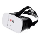 "VR-1 Virtual Reality 3D Glasses for 3.5~6"" Phones - White + Black"