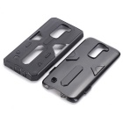 TPU + PC Back Case for LG K7 - Black
