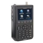 "3.5"" LCD SATlink Satellite Signal FTA Data Digital Finder - Preto"