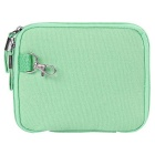 """Multi-Function Canvas Storage Bag for 8"""" Tablet PC + More -Mint Green"""