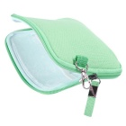 "Multi-Function Canvas Storage Bag for 8"" Tablet PC + More - Mint Green"