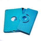 Giratoria desmontable TPU funda blanda para IPAD mini 1/2/3 - azul