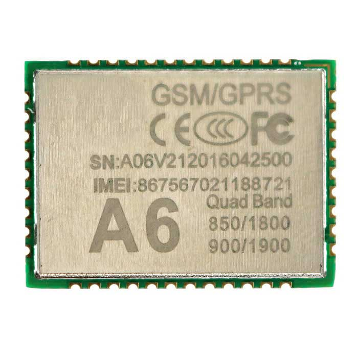 SMD GPRS A6 Serial GPRS / GSM Module for Quad-band Network