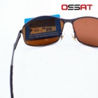 Ossat JS-0223 Polarized Driving Glasses - Cadre Gris + Tawny Objectif