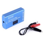 BC-4S15D Lithium Lipo Battery Charger with Voltage Display - Blue