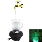 Magical Colorful Flowing Water Suspension Tap Decorative LED Lamp