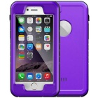 WPC-01 Waterproof PC + TPU Case Cover for IPHONE 6  /6S - Purple