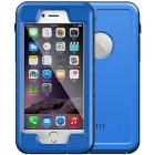 WPC-01 Waterproof PC + TPU Case Cover for IPHONE 6  /6S - Blue