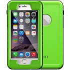 WPC-01 Waterproof PC + TPU Case Cover for IPHONE 6  /6S - Green