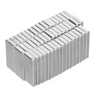 28 * 12 * 4mm Rectangular NdFeB Magnet - Silver (50PCS)