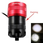 KINFIRE AS10 XML T6 LED Cool White Bicycle Light w / 4 * 18650 Baterie
