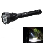 Outdoor Camping Hiking 1001lm 5-Mode Flashlight - Black