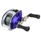 Right Hand Baitcasting Fishing Reel - Blue + Silver