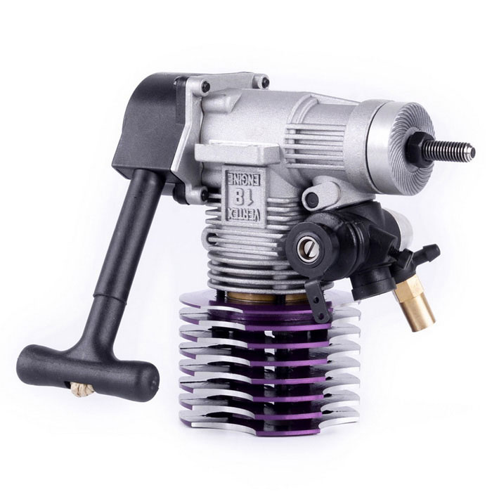 02060 VX18 Engine 2.74cc Pull Starter for HSP RC Model - Purple