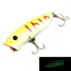 12g 6# Luminous Fishing Hook Fishhook - Yellow + Multi-Colored