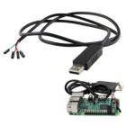 USB To TTL Debug Cable for Raspberry pi / COM Serial Cable - Black