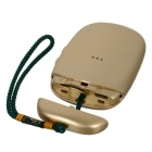 Mini Bluetooth V4.0 Dual SIM Card GSM Adapter for IPHONE IPAD - Gold