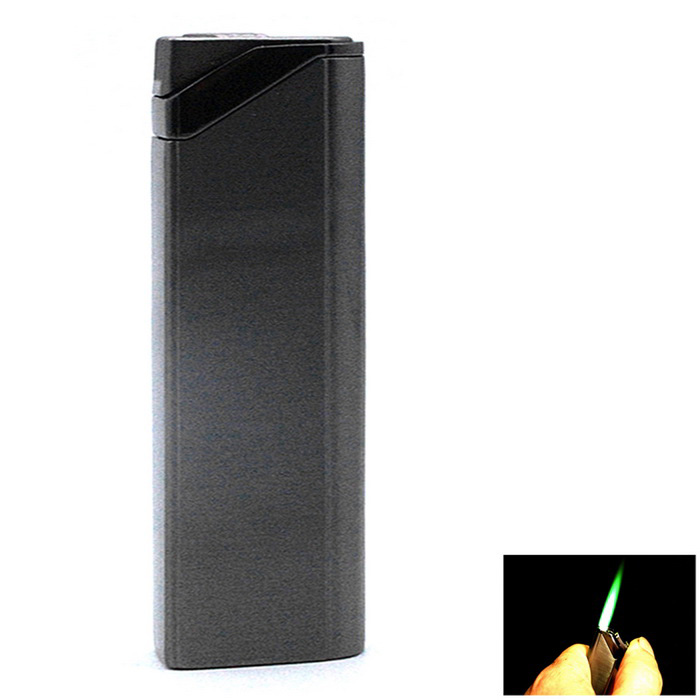 SYS0112 Ultra Light Refillable Cigarette Lighter - Grey