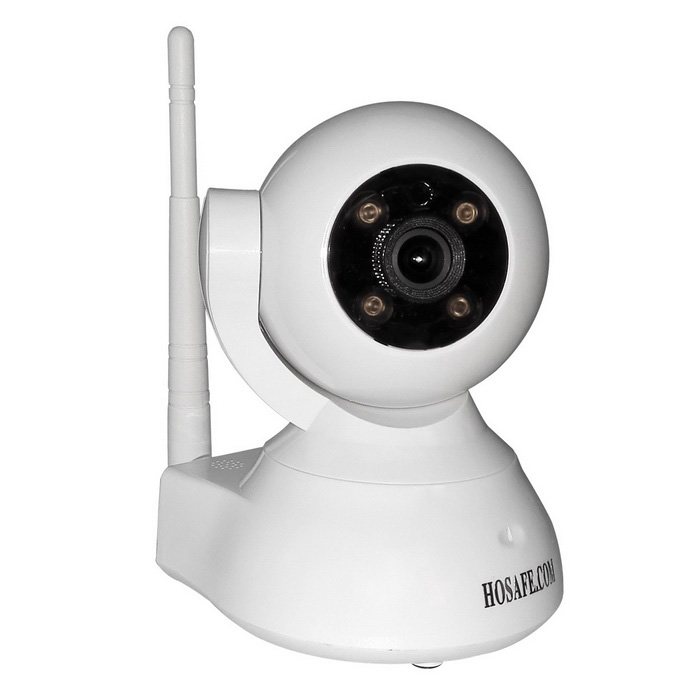 HOSAFE SV03 720P Wireless Pan / Tilt Cámara IP-Blanco (enchufe de EE.UU.)
