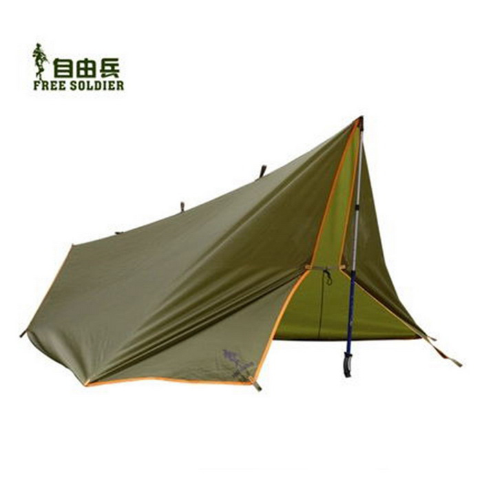 FREESOLDIER Multifunkční Outdoor Camping stan - Grass Green